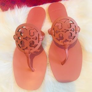 New Tory Burch Miller Square Sandal Size 9